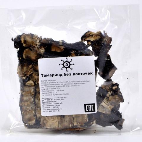 Тамаринд сушеный без косточек, 100г