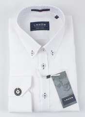 Рубашка Ledub slim fit 0136904-910-000-000-SF-White
