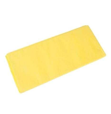 Бумага тишью 10 шт., 50x66 см, цвет: светло-желтый