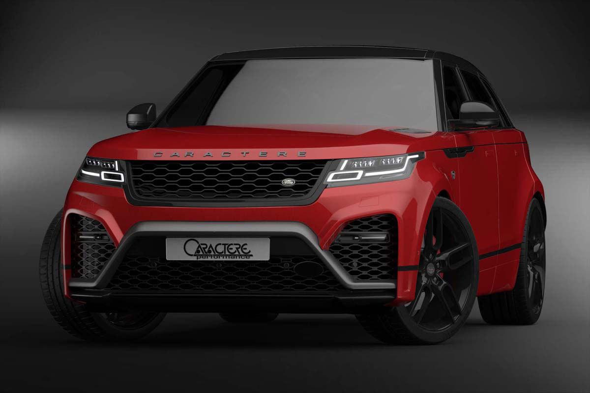 Обвес Caractere Exclusive на Range Rover Velar