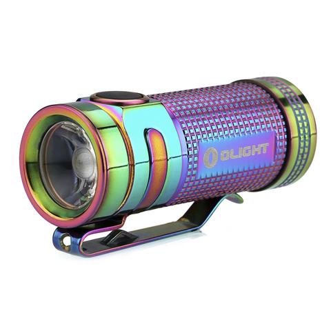 Фонарь светодиодный Olight S Mini Ti Rainbow PVD Титан