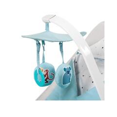 Шезлонг Kinderkraft Felio Light Blue