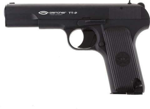 Пистолет пневматический Gletcher TT-P non-blowback, пластик