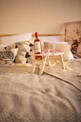 Складной столик для вина, нежно-розовый, фото 2