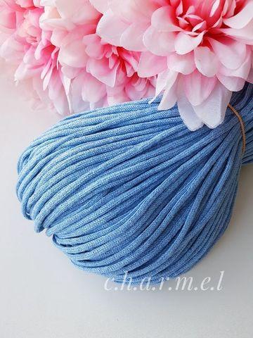 Голубой Лайт  Хлопковый шнур