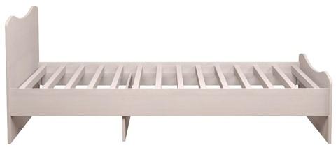 Кровать Принцесса 5 комплектация 2 Ижмебель 90х190 лиственница сибио