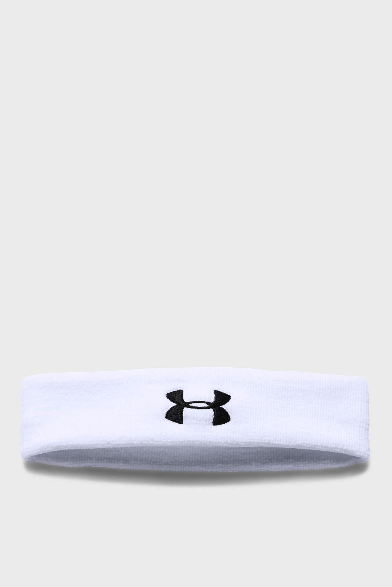Мужская белая повязка Performance Headband Under Armour