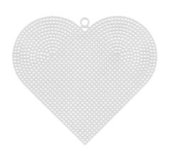канва-сердце-пластиковая