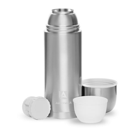 Термос Арктика (1,2 литра) с узким горлом, стальной