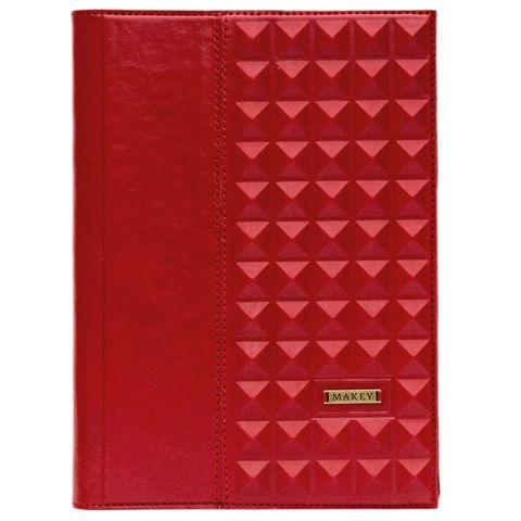 Ежедневник А5 «Геометрия». Цвет красный