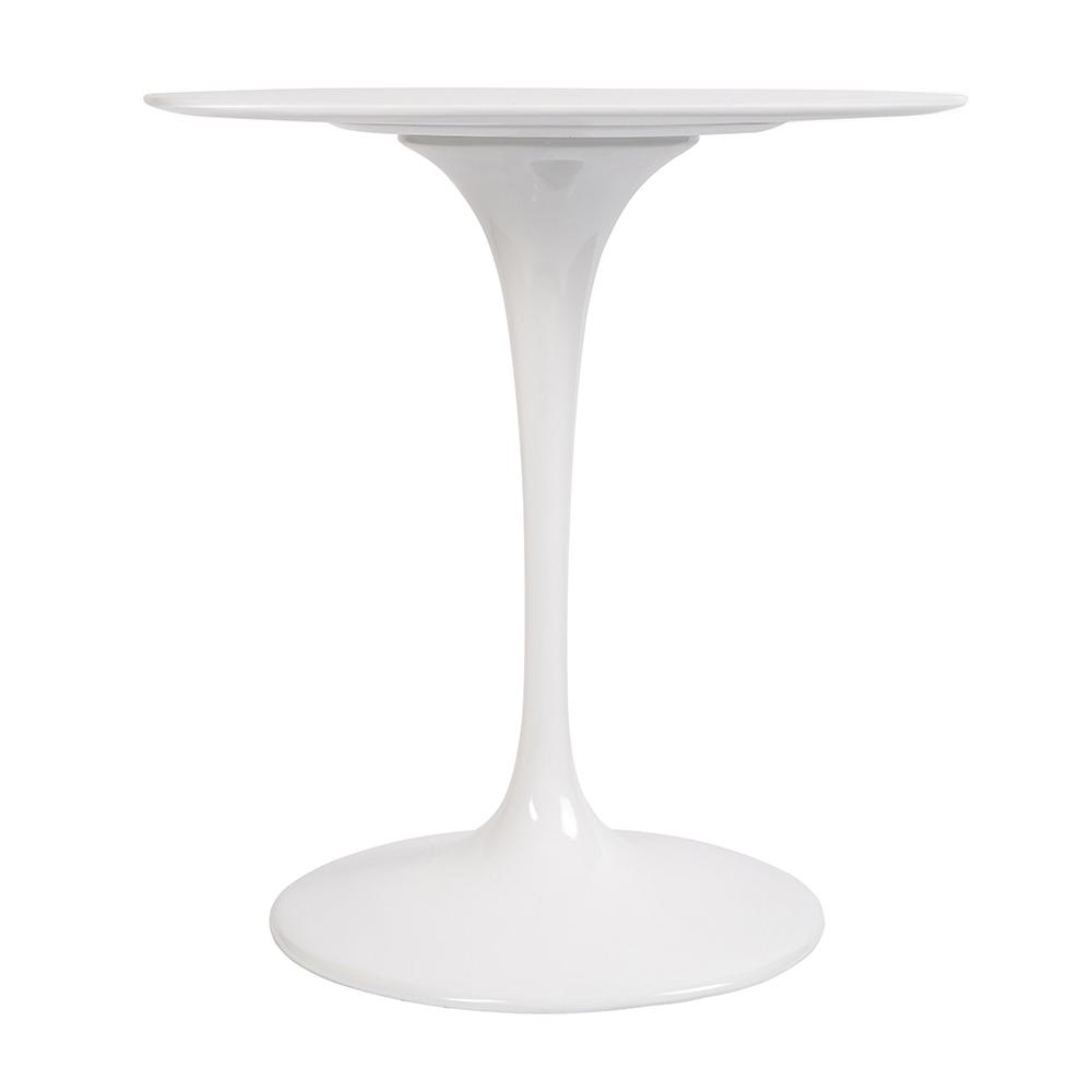 Стол Eero Saarinen Style Tulip Table белый Top MDF D70 глянцевый - вид 2