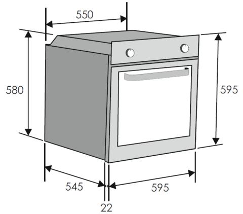Духовой шкаф CANDY FCP 100 X/E