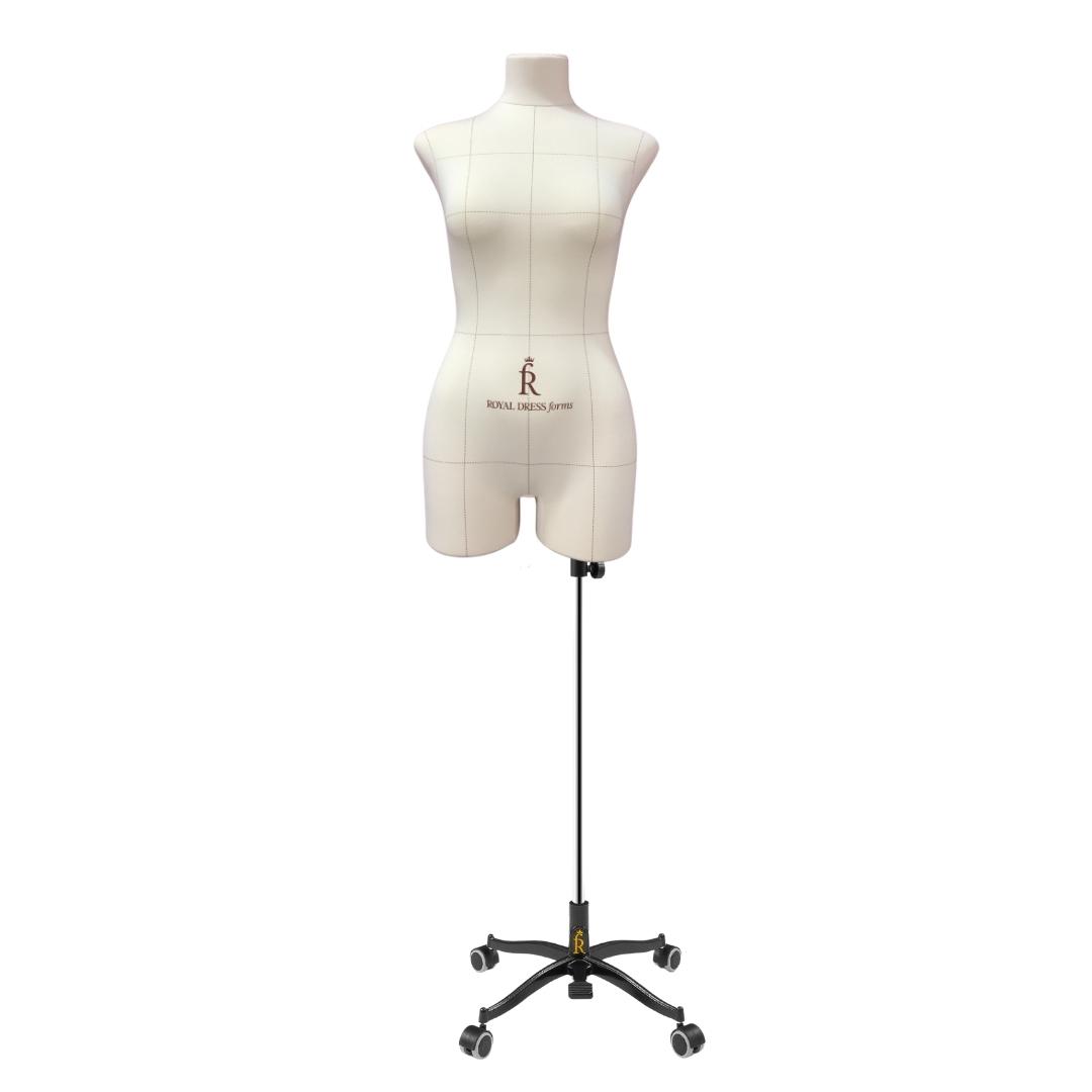 Манекен портновский Виктория, комплект Про, размер 44, тип фигуры ПрямоугольникФото 1