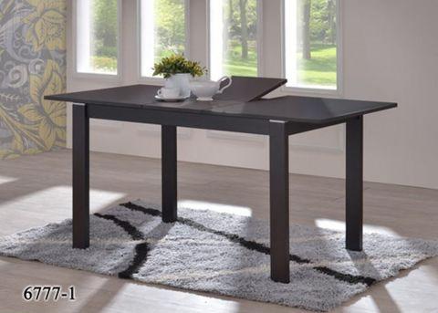 Стол обеденный 6777-1 раздвижной деревянный венге