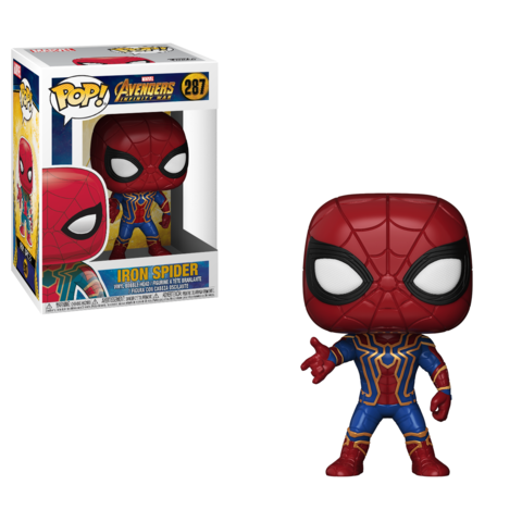 Фигурка Funko POP! Bobble: Marvel: Avengers Infinity War: Iron Spider 26465
