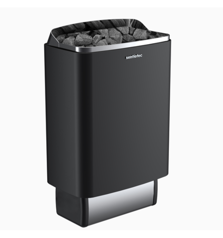 SENTIOTEC Электрическая печь без пульта, 100 series, black, 6 кВт, артикул ST160400BE