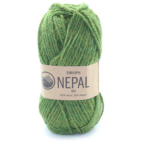 Пряжа Drops Nepal 7238 оливковый