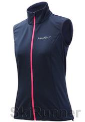 Женский лыжный жилет Nordski Motion BlueBerry/Pink