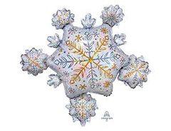 А Фигура Снежинка блеск 32