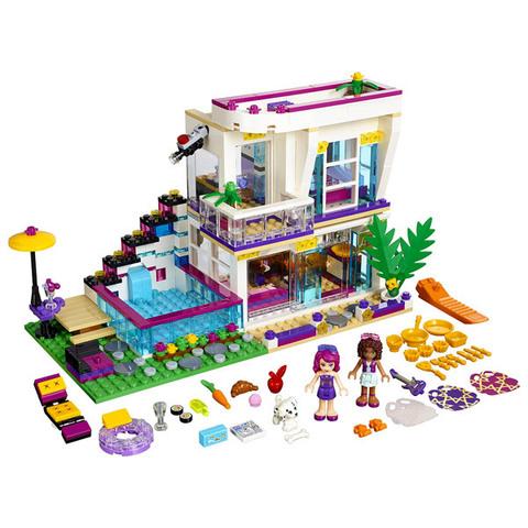 LEGO Friends: Поп-звезда: Дом Ливи 41135 — Livi's Pop Star House — Лего Френдз Друзья Подружки