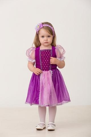 Карнавальный костюм Принцесса Рапунцель малышка