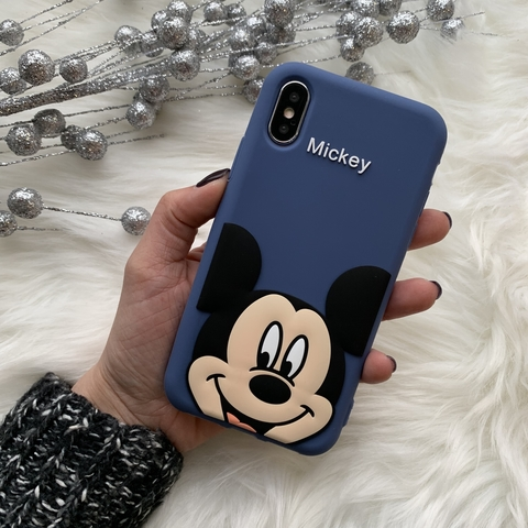 Чехол силиконовый iPhone X/XS /mickey/