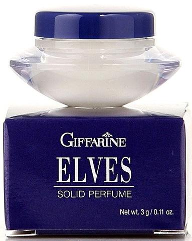 Твердые сухие духи с природными феромонами ELVES от бренда Giffarine, 3г