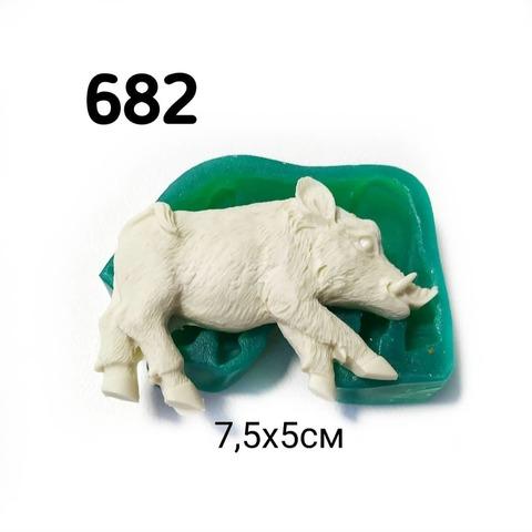 0682 Молд силиконовый. Кабан