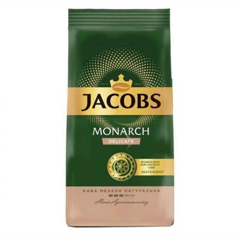 Кофе JACOBS MONARCH Delicate молотый 230 г РОССИЯ