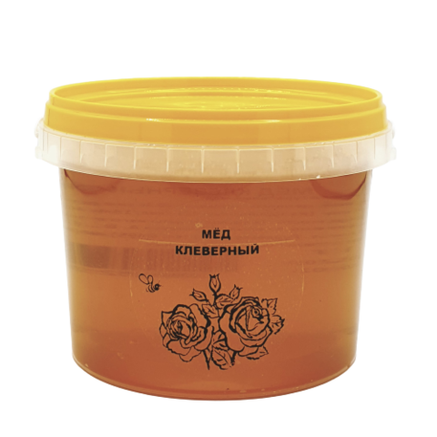 Мёд натуральный КЛЕВЕРНЫЙ, 1 кг