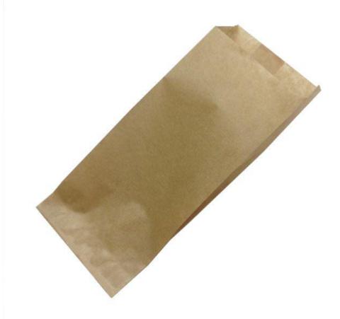 Пакет бумажный (саше) 100х70х230 мм крафт (для половинки шаурмы)