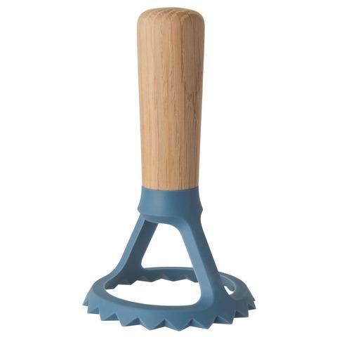 Пресс для равиолли с деревянной ручкой 13*8*8см Leo