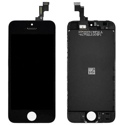 LCD Apple iPhone 5S Black (LT / AAA)