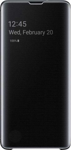 Чехол SAMSUNG Clear View Cover для Samsung Galaxy S10 черный