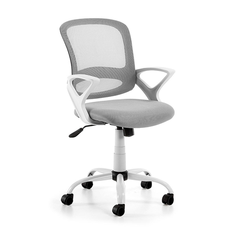 Поворотное кресло Lambert серое