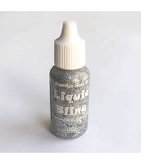 Блестки-линер Liquid bling серебряные Chrome Silver 15 ml