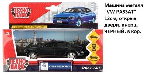 Машина мет. PASSAT-BK VW PASSAT чёрный технопа(СБ)