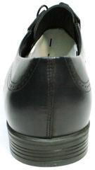 Классические туфли дерби. Синие туфли броги. Туфли кожаные мужские Ikos DB.