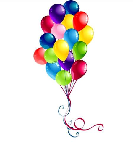 Воздушные шарики, латекс, 30 штук, 30 см, разные цвета в ассортименте