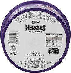 Cadbury Heroes Tub 600 гр