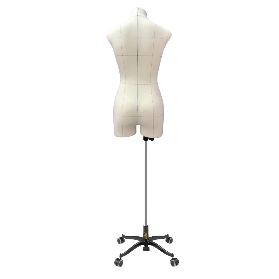 Манекен портновский Виктория, комплект Про, размер 44, тип фигуры ПрямоугольникФото 4
