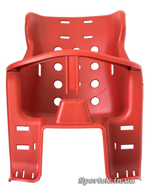 Детское велосипедное кресло для детей от 2 до 5 лет и весом до 20 кг - вид спереди