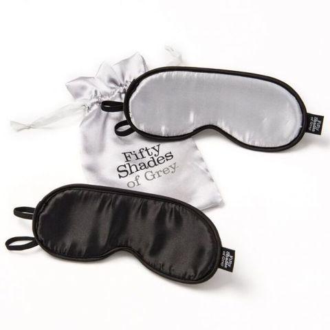 Мягкие маски на глаза FSoG Soft Twin Blindfold Set