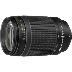 Объектив Nikkor AF 70-300mm f/4-5.6G Black для Nikon
