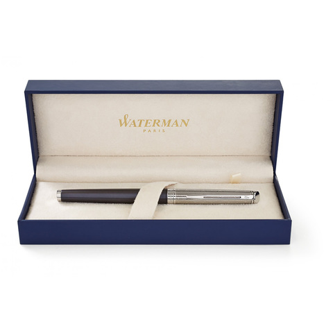 *Ручка-роллер Waterman Hemisphere Deluxe Privee - Saphir CT123