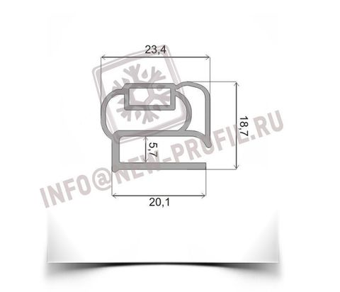 Уплотнитель для Ока 6М м.к. 290*580 мм (014)