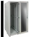 Заказать и купить Шкаф серверный 19 СрШ-24U-06-08-ДС со стеклянной дверью: цена в Москве от производителя