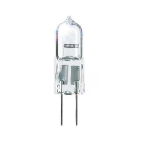 Лампа капсульная галогенная JC - 20Вт - 12В - G4 прозрачная TDM