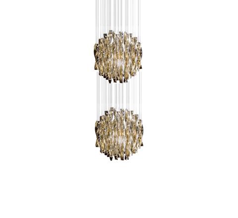 Подвесной светильник копия AURA by AXO LIGHT/2 D 45 cm (коричневый)