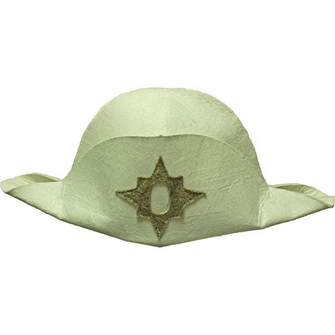 Шляпа Наполеон (белая)